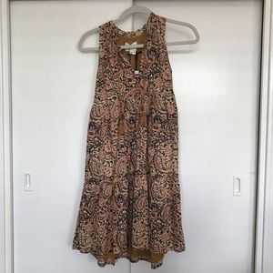 Séxane Arielle Paisley A-line dress, NWT